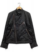 ()の古着「キルティングライダース中綿ジャケット」|ブラック