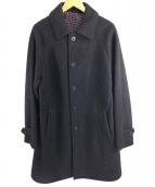 ()の古着「ロングコート」|ネイビー