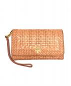 PRADA(プラダ)の古着「財布」 ローズ