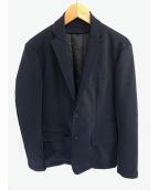 EDIFICE(エディフィス)の古着「ライナー付ジャケット」 ネイビー