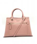 GUCCI(グッチ)の古着「ハンドバッグ」|ピンク