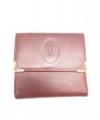 Cartier(カルティエ)の古着「財布」 レッド