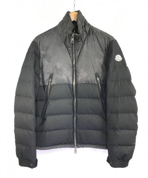 MONCLER(モンクレール)MONCLER (モンクレール) ダウンジャケット ブラック サイズ:1 冬物の古着・服飾アイテム