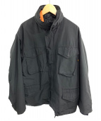 ALPHA(アルファ)の古着「ミリタリージャケット」 ブラック
