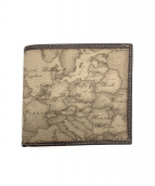 PRIMA CLASSE(プリマクラッセ)の古着「2つ折り財布」|グレー