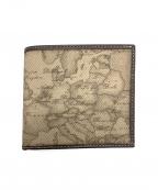 PRIMA CLASSE(プリマクラッセ)の古着「2つ折り財布」 グレー