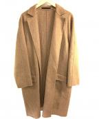 ATON(エイトン)の古着「チェスターコート」 ブラウン