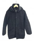Traditional Weatherwear(トラディショナルウェザーウェア)の古着「キルティングコート」 ブラック