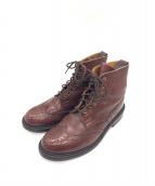 TRICKER'S(トリッカーズ)の古着「ウィングチップブーツ」|ブラウン