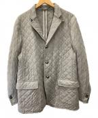 CORNELIANI(コルネリアーニ)の古着「キルティングジャケット」|グレー