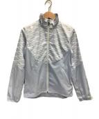 DESCENTE(デサント)の古着「ナイロンジャケット」 スカイブルー