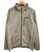 Patagonia(パタゴニア)の古着「ベターセータージャケット」 ベージュ