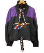 REEBOK(リーボック)の古着「プルオーバージャケット」 ブラック