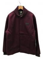 NEW BALANCE×Dehen(ニューバランス×ディーエン)の古着「ウールジャケット」|レッド