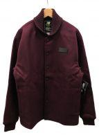 NEW BALANCE× Dehen(ニューバランス×ディーエン)の古着「ウールジャケット」|レッド