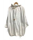 ()の古着「デニムフーディコート」|ホワイト
