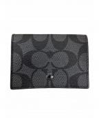 COACH()の古着「3つ折り財布」|ブラック