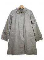 MARGARET HOWELL(マーガレットハウエル)の古着「ライナー付ステンカラーコート」|グレー