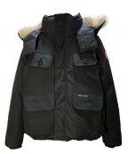 CANADA GOOSE()の古着「ダウンジャケット」|ブラック