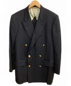 Paul Stuart(ポールスチュアート)の古着「金釦ダブルブレザー」|ネイビー