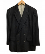 Paul Stuart(ポールスチュアート)の古着「ダブルスーツセットアップ」|ネイビー
