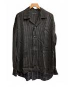 ()の古着「オーバーサイズシャツ」|ブラック
