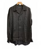 FACTOTUM(ファクトタム)の古着「オーバーサイズシャツ」|ブラック