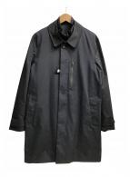 ()の古着「中綿ライナー付ステンカラーコート」 ネイビー