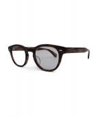 OLIVER PEOPLES(オリバーピープル)の古着「伊達眼鏡」 ブラウン