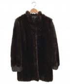 SAGA MINK(サガミンク)の古着「ミンクコート」|ブラウン