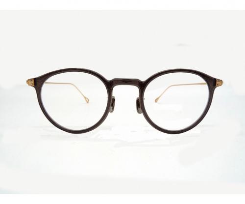 EYEVAN 7285(アイバン)EYEVAN 7285 (アイバン) 伊達眼鏡 ゴールド 417の古着・服飾アイテム