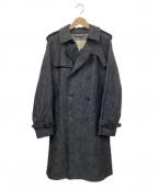 MACKINTOSH()の古着「デニムトレンチコート」|ブルー