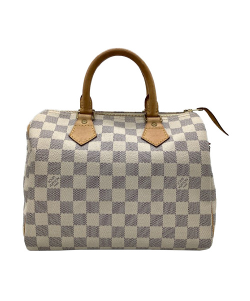 LOUIS VUITTON(ルイヴィトン)LOUIS VUITTON (ルイヴィトン) ハンドバッグ ホワイト ダミエ・アズール N41371 参考価格146.300円 SP2049の古着・服飾アイテム