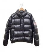 Pyrenex(ピレネックス)の古着「プルオーバーダウンジャケット」|ブラック