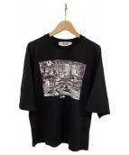 MSGM(エムエスジーエム)の古着「Tシャツ」|ブラック