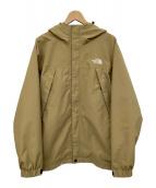 ()の古着「スクープジャケット」|ブラウン