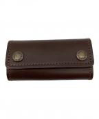土屋鞄(ツチヤカバン)の古着「4連キーケース」|ブラウン
