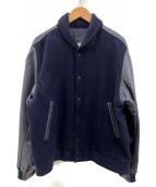 nanamica(ナナミカ)の古着「ヴァーシティジャケット」|ネイビー