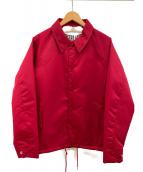 EVERLAST(エバーラスト)の古着「裏ボアコーチジャケット」 レッド