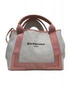 BALENCIAGA(バレンシアガ)の古着「キャンバスハンドバッグ」