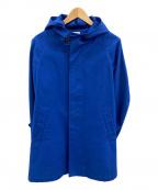 ORCIVAL(オーシバル)の古着「フーデッドコート」 ブルー