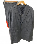 Casely-Hayford(ケイスリーヘイフォード)の古着「セットアップ」|グレー×オレンジ