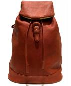 土屋鞄製作所(ツチヤカバン)の古着「トーンオイルヌメソフトバックパック」 ブラウン