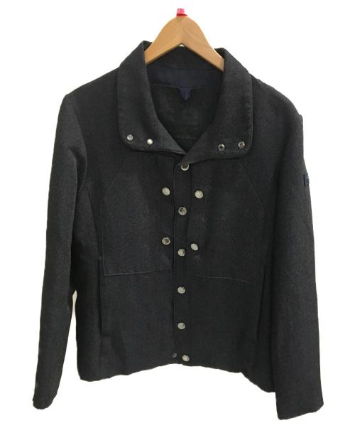 TATRAS(タトラス)TATRAS (タトラス) デニム調ブルゾン ネイビー サイズ:SIZE02の古着・服飾アイテム