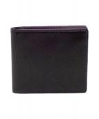 ()の古着「2つ折り財布」|ブラック×パープル
