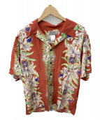 AVANTI(アバンティ)の古着「アロハシャツ」|ピンク