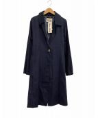 ()の古着「トレンチコート」 ブルー