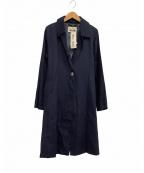 BEAVER OF BOLTON(ビーバー オブ ボルトン)の古着「トレンチコート」|ブルー