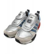 adidas originals(アディダスオリジナル)の古着「スニーカー」|シルバー×ブルー