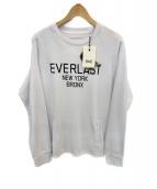 EVERLAST(エバーラスト)の古着「スウェット」|ホワイト